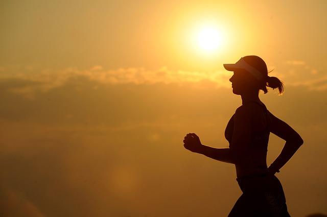 běh ženy