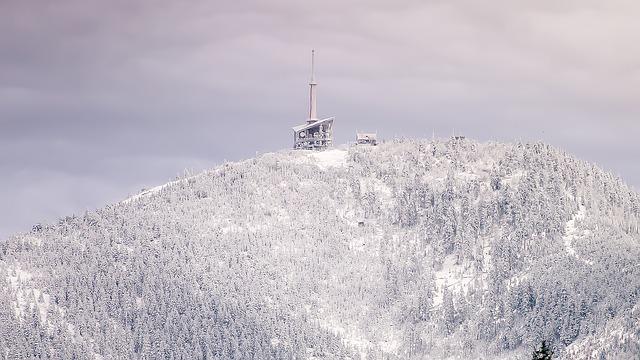 vysílač na horách
