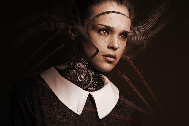 robotická žena