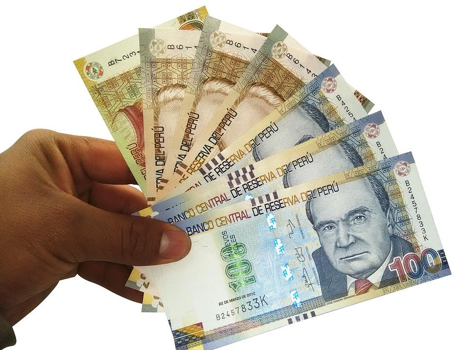 peruánské peníze